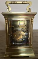 Large Fine Repeat Strike Carriage Clock (9 of 12)