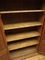 Antique Oak Linen Cupboard, Housekeepers Cupboard Larder with Shelves (5 of 16)