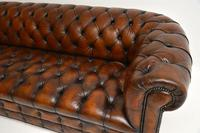 Antique Deep Buttoned Leather Chesterfield Sofa (8 of 9)