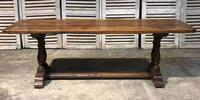 French Oak Farmhouse Refectory Dining Table (3 of 20)