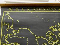 "University Chart ""Black Map of North America (3 of 5)"