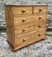 Antique Pine Chest of Drawers (15 of 17)
