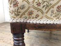 Victorian Three Piece Suite with Gold Floral Upholstery (18 of 26)