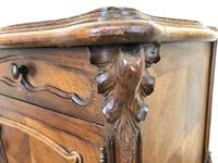 Antique French Marble Top Side Cupboard (6 of 9)