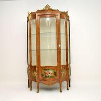 French Ormolu Mounted Display Cabinet