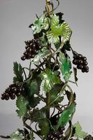 Green Tole Chandelier c.1900 (2 of 3)