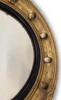 Regency Gilt Round Convex Mirror (4 of 5)