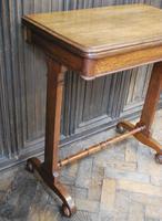 Oak Occasional Side Tea Table (4 of 9)