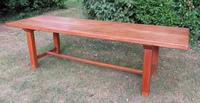 Antique French Elm & Ash Farmhouse Dining Table (9 of 9)