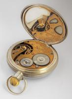 Antique Silver Waltham Bond Street Pocket Watch (4 of 5)