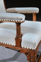 19th Century Oak Gothic Armchair By G Tilley Of Birmingham (7 of 10)