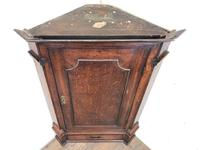 Antique Corner Cupboard with Drawer (2 of 10)
