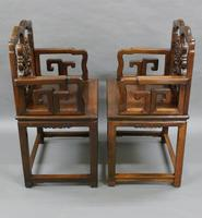 Pair of Chinese Qing Dynasty, Hongmu Chairs (5 of 6)