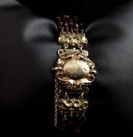 Victorian Bohemian Garnet Bead Bracelet (6 of 11)