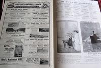 1910 Rare French Journal.  Numerous Adverts, Folio Sized Colour Plates (4 of 4)
