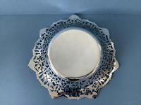 Large Antique Silver Dish or Bowl (4 of 5)