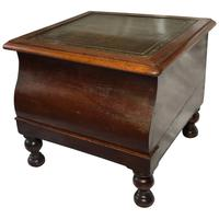 Antique English Regency Early 19th Century Library Single Step Stand c.1820