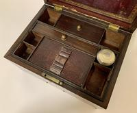 Antique Victorian Rosewood Vanity Jewellery Box (10 of 16)