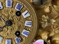 Louis XV Style Ormolu Mantel Clock by Raingo, Paris (16 of 16)