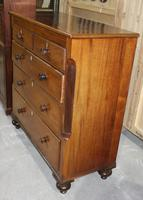 1900's Large Victorian Mahogany Chest Drawers 2 0ver 3 (2 of 4)