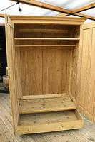 Fabulous & Large Old Pine 'Knock Down'  Double Wardrobe (7 of 15)