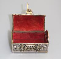 A Novelty Jewellery Box Armada Treasure Chest 20thc (5 of 8)