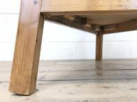 Antique Pine Tripod Side Table (m-2269) (4 of 8)