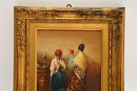 Antique Oil Painting in Gilt Wood Frame (3 of 9)