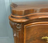 19th Century French Flame Mahogany Commode (6 of 20)