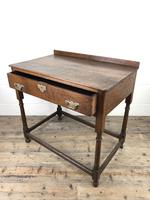 Antique 19th Century Oak Lowboy Side Table (10 of 11)