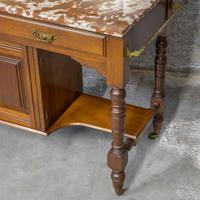 Victorian Walnut Washstand (2 of 9)