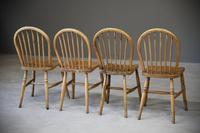 4 Beech & Elm Kitchen Chairs (3 of 12)