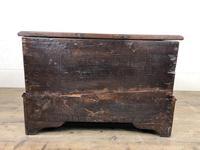 Antique Welsh Oak Coffer Bach (2 of 15)
