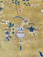 Antique Chinese Art Deco Carpet 3.15m x 2.71m (8 of 13)