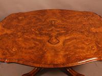 Victorian Coffee Table in Burr Walnut (2 of 9)