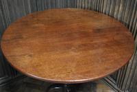 Rare George II Cuban mahogany tripod table (3 of 7)