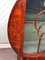 Art Deco Walnut Display Cabinet (9 of 13)