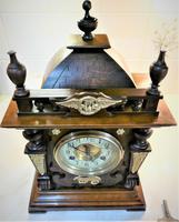 Wonderful 1880 German Striking Mantel Clock by Phillip Hass & Söhne (3 of 7)