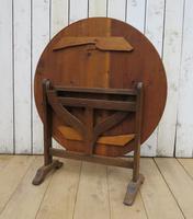 Antique Vendange Wine Tasting Table (5 of 9)