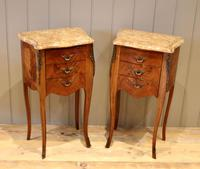 Tulipwood And Mahogany Bedside Cabinets (8 of 9)