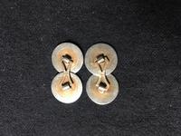 Pair of 2-colour Gold & Diamond Cufflinks (3 of 3)