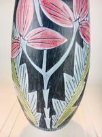 Fabulous Marian Zawadzki for Tilgmans Hand Painted Swedish Ceramic Vase c.1960s (2 of 13)
