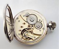 Antique Swiss Silver Pocket Watch (5 of 5)