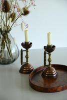 Pair of Christopher Dresser Arts & Crafts Candlesticks (4 of 9)