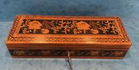 Victorian Satinwood Glove Box With Tunbridge Ware Inlay (4 of 12)