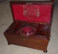Georgian Mahogany Tea Caddy Circa 1820 (2 of 2)