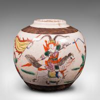 Small Antique Flower Vase, Japanese, Ceramic, Posy Urn, Edo Period c.1850 (6 of 12)