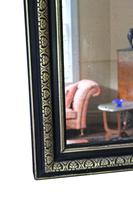 19th Century ebonised and gilt mirror overmantle wall (7 of 9)