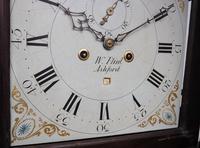 18th Century Longcase Clock Fine English Oak Ashford Grandfather Clock Painted Dial c.1757 (2 of 12)