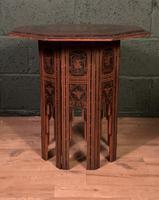Decorative Burmese chai or tea table (2 of 8)